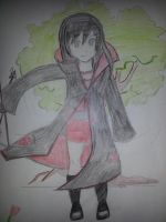 my oc Loana, she's Deidara's girlfriend. by Applepie97