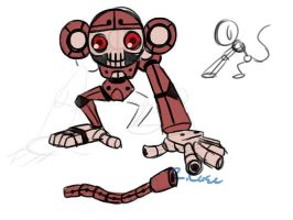 Reaverbot Monkey design by rongs1234
