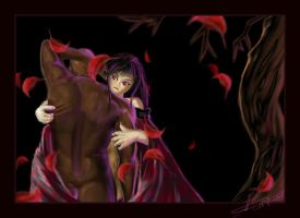 Scarlet Embrace by BlackPhrost-Ixion