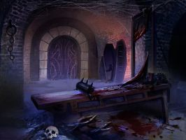 Otherworlde Castle Dungeon by viralremix