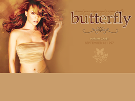 Mariah Wallpaper-Butterfly by sienetta