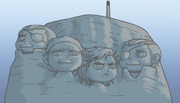 MGS - MT. SNAKEMORE by FerioWind