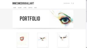 Watercolour website by indi1288