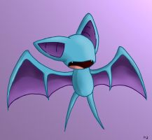 Zubat by Peeka13