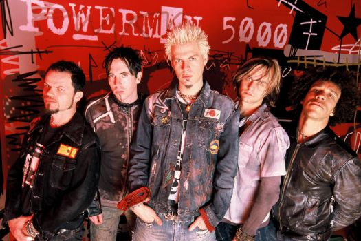 My Favorite Music Artists Powerman 5000 by Omnianimeman