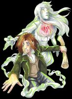 The Fool and the Ghost by MidoriLied