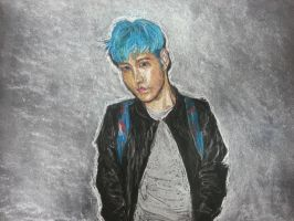 First Pastel Drawing by jaeminbahk