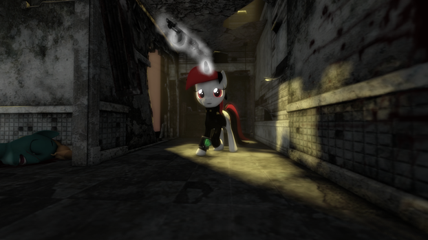 {SFM} Fallout Equestria: Blackjack: Alone by jaygaming1