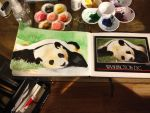Lazy Panda in the works by EsBest