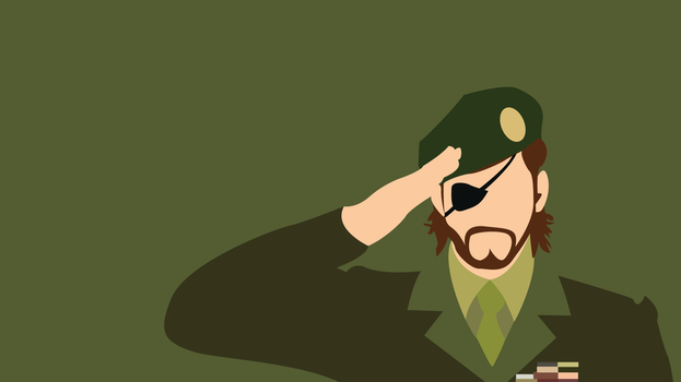 Big Boss MGS3 Wallpaper by Oldhat104