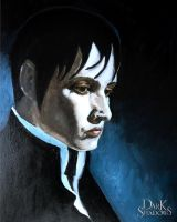 Dark Shadows Portrait by moonwildflower