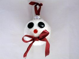 Rudolf Snowman Ball by IHAVE77ISSUES