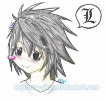 L Chibi .:Death Note:. by Sephora-chan