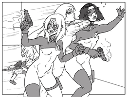 A.C.R.O.N.Y.M Girls in Action by Shabazik