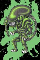 Toxic Alien by Nathaldron