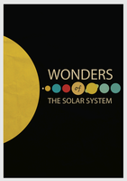 Wonders of the Solar System Minimalism by cstm