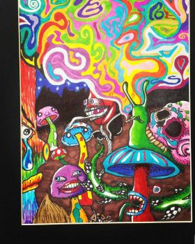 Shrooms an' shit by KajaIsForeverAlone