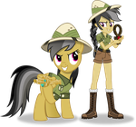 Daring Do and Daring Do by Vector-Brony