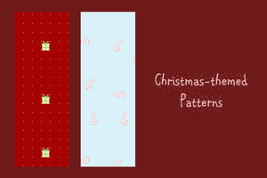 Christmas-Themed Patterns by churien