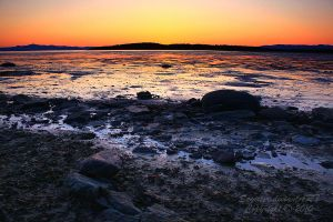 Kamouraska Sunset by Sagittor