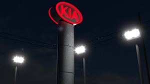 Kia Dealership Sign (WIP) by salk32