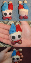 Crocheted Marx Plush Doll by PigMasterOra