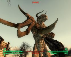 F3: Woe is Deathclaw by SpectorKnight