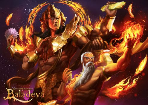 Baladeva - Lord Brahma by ellinsworth