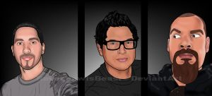 Ghost Adventures Crew by RavenpawIsBeast