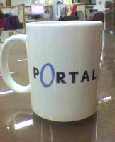 Portal Mug by MistressAinley