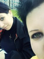 My sister and me by Doratin