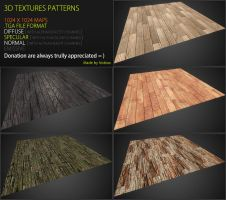 Free 3D textures pack 45 by Nobiax