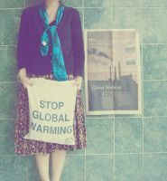 STOP GLOBAL WARMING by aRnie41gothrockgirl