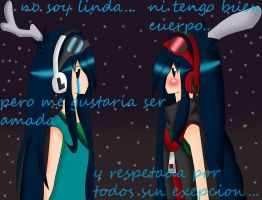 lexi differences that give sadness... by LexiLaErizaGato