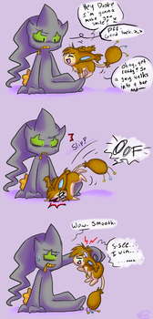 How to Make a Banette Smile... by nini-chu