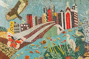 philly mosaic by bewing