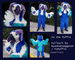 Yu the Puffin Fursuit by YuPuffin