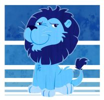 Blue Lion is Blue by Kata