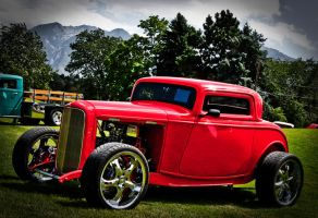 Red Hot Rod by PapaGue