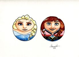 CircleToons: Frozen by Fellhauer