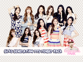 Pack PNG #76 TaeTiSeo (Girls Generation) by XieraaaPark