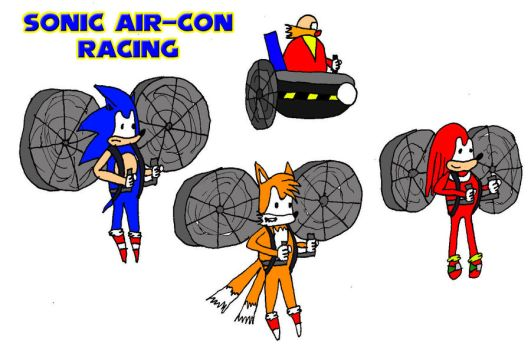 Sonic Air-Con Racing by hairymanlewis
