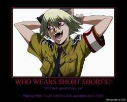 WHO WEARS SHORT SHORTS by Wolfprincess87