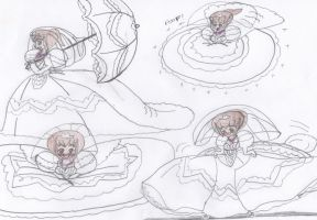 Okashina Futari - Bride Sketches by Aquateen510