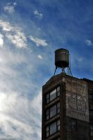 NYC-water tower by palombasso