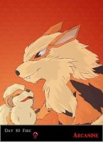 Day 10 Arcanine by Jacklave