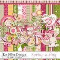 [Share Scrapbooking #3] Spring a ling by hoshi-langefia