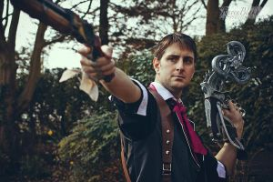 Booker Dewitt - Bioshock Infinite by Leadmill