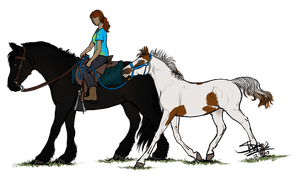 Ponying by ShapeShifter314
