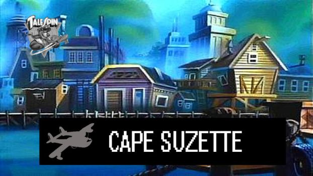 Disney Smash Bros Stage: Cape Suzette by MrYoshi1996